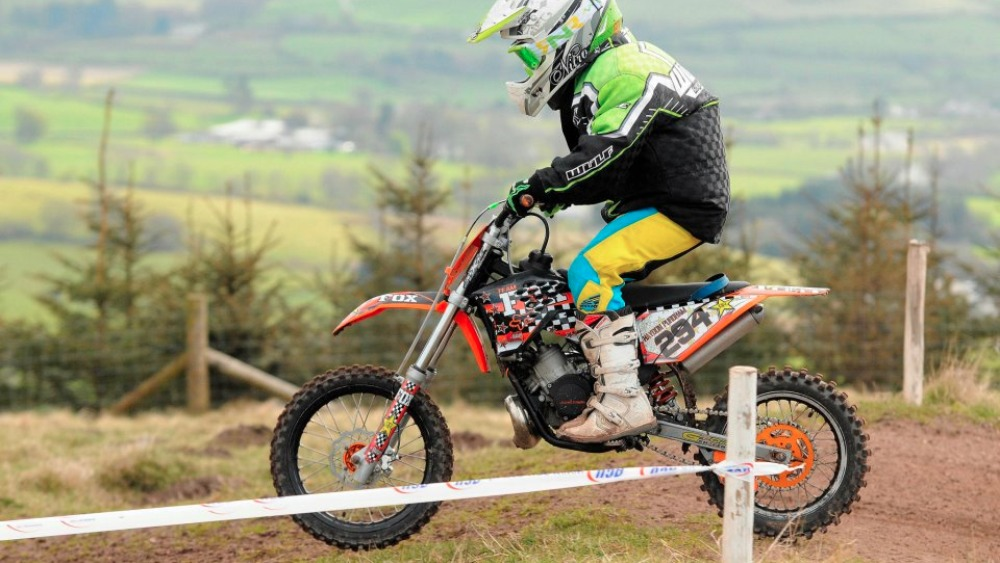 boy 39 s motocross bike stolen border itv news. Black Bedroom Furniture Sets. Home Design Ideas