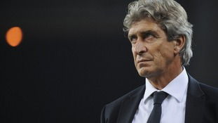 "Manuel Pellegrini said ""nothing had been agreed"" with Man City"