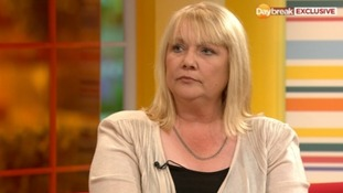 Jayne Lee, speaking to Daybreak