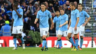 Man City ended the season trophyless after their FA Cup final defeat to Wigan