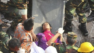 Reshma Begum was found alive after spending 17 days trapped under rubble