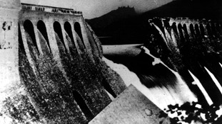 The Eder Dam after the Dam Buster raid