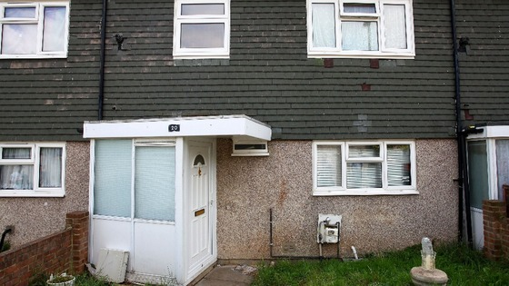 The house in Croydon, south London where Tia Sharp&#x27;s body was found in the loft