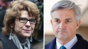 Chris Huhne and Vicky Pryce released from prison