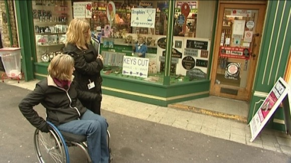 A new survey will monitor access for disabled people in Linconshire