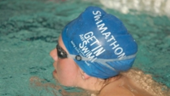 Swimming for charity