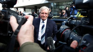 Coronation Street actor Bill Roache arrives at Preston Magistrates' Court