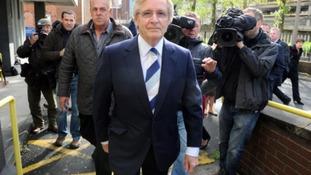 Bill Roache arrives at Preston Magistrates' court