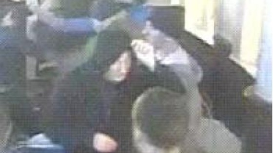 CCTV image of Sheffield United fan