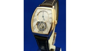 A Breguet Tourbillion watch.