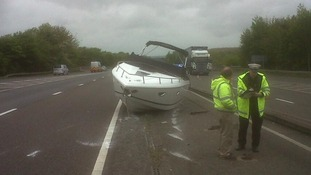 Boat on A34