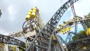 What it would look like to ride The Smiler at Alton Towers