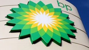 File photo of a BP sign.