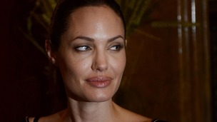 Angelina Jolie pictured in Turkey in September 2012