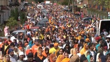 Birmingham's Vaisakhi celebrations in previous years