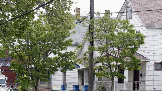 The house in Cleveland, Ohio, where three women were held captive for almost a decade.
