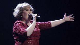 Susan Boyle announces first tour as 'thank you' to Scotland