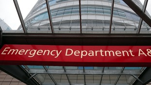 Accident and Emergency Department are struggling to cope with demand