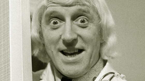 Jimmy Savile in 1976