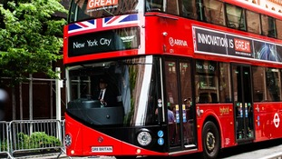The GREAT London double decker bus