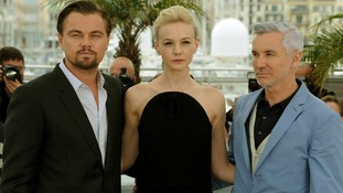 Leonardo DiCaprio who plays the lead role joins the British actress Carey Mulligan and director Baz Luhrmann.