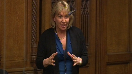 Nadine Dorries looks at &#x27;Deal with Ukip