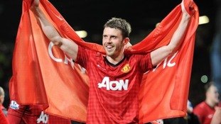 Michael Carrick claimed the Players' Player of the Year award.