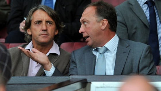 Roberto Mancini and David Platt