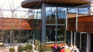 Maggies, a new cancer centre at the Freeman in Newcastle, opened today.