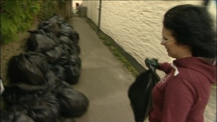 Cornwall bin crisis: council apologises