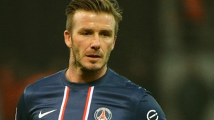 David Beckham will retire at the end of the season.