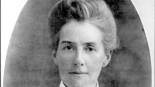Miss Edith Cavell, executed by the Germans for treason during World War One