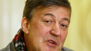 British writer, actor, and comedian Stephen Fry