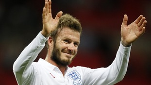 A beard for Beckham in 2009.