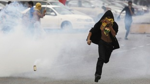 Bahrain protests over F1