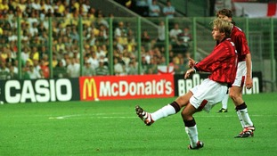 Beckham was renowned as one of the world's best free-kick takers