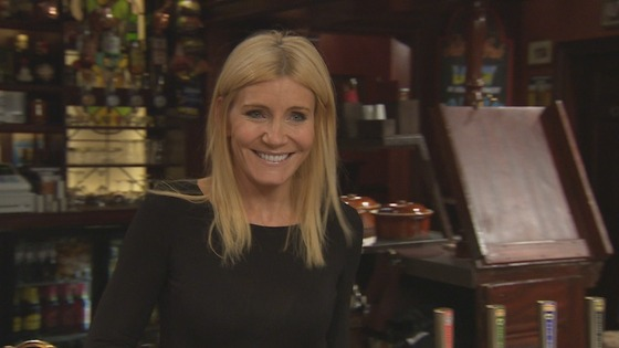 Landlady Stella Price, played by Michelle Collins