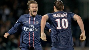 "With French title glory for PSG, Beckham achieved his aim of ending his career ""at the top"""