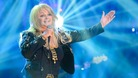 Bonnie Tyler in last Eurovision rehearsal
