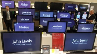 John Lewis store in Stratford, east London