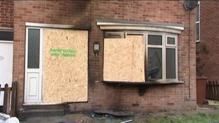 House damaged in arson attack