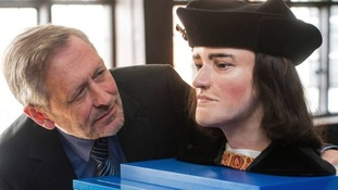 Sir Peter Soulsby gets acquainted with Richard III
