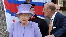The Queen and Duke of Edinburgh visit Cornwall