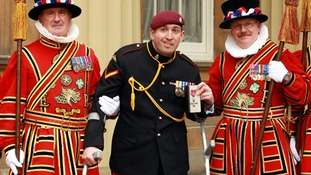 Most injured soldier in Afghanistan moved by Prince Charles' MBE 'inspiration' tribute