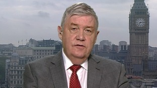 Sir Ken Knight speaking on ITV's Daybreak.