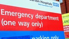 A&E departments have seen a million more patients this year than last.