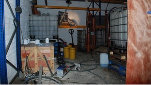 Inside the oil laundering plant