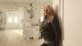Bonnie Tyler in the music video to 'Believe In Me'