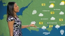 Rain heading this way for Sunday 
