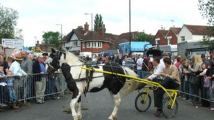 Horse fair at Wickham